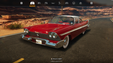 "Car Mechanic Simulator 2021 ""Plymouth Fury 1958"""