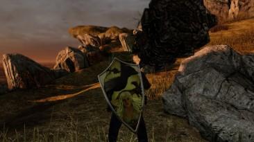 "Dark Souls 2 ""Daenerys Targaryen Blossom Kite Shield"""
