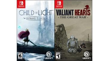 Child of Light и Valiant Hearts выйдет на физическом носителе в виде бандла