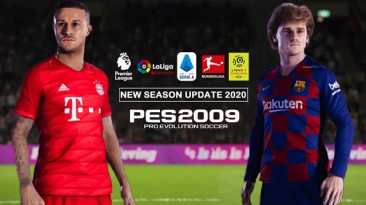 "PES 2009 ""Infinity Patch 2019 (Update New Season 2019/20)"""