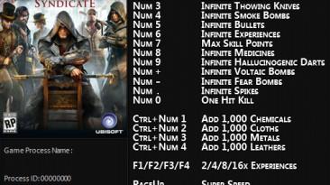 Assassin's Creed: Syndicate: Трейнер/Trainer (+21) [1.12 - 1.31] {FLiNG}