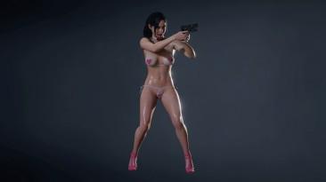 """Resident Evil 2 """"Клэр в бикини с сердечками"""""""