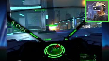 22 минуты кооперативного режима Battlezone PSVR