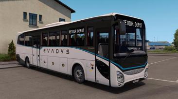 "American Truck Simulator ""Автобус Iveco Evedys v1.04 Fix(1.39.x)"""