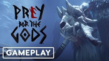 Сражение с боссом в новом геймплейном ролике Praey for the Gods