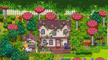 "Stardew Valley ""Ali's Overgrown Fairy Buildings"""