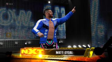"WWE 2K17 ""Matt Sydal '21 (Лицевая анимация) WWE 2K19 Порт Мод"""