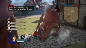 Немного геймплея PC-версии Attack on Titan