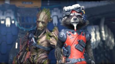 Разработчики Marvel's Guardians of the Galaxy рассказали о Ракете и Груте