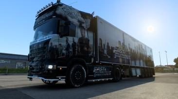 "Euro Truck Simulator 2 ""Скин Пак Форсаж HQ v1.0 (1.41.x)"""