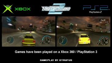 NFS Underground 2 - Графика Xbox vs.PlayStation