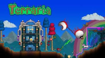 Геймплей Terraria на Nintendo Switch