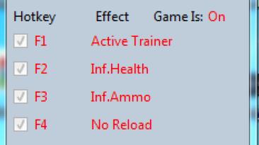BioShock Infinite: Трейнер/Trainer (+8) [Latest Steam] {MrAntiFun}