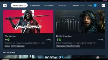 """Valve запускает программу """"Проверено на Steam Deck"""" для игр, которые хорошо работают на Steam Deck"""