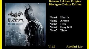 Batman Arkham Origins: Blackgate Deluxe Edition: Трейнер/Trainer (+5) [1.0] {Abolfazl.k}