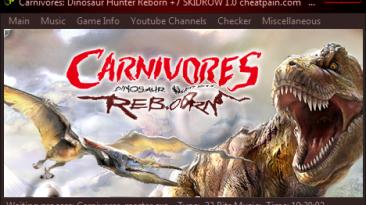 Carnivores: Dinosaur Hunter Reborn: Трейнер/Trainer (+7) [Update 1] {h4x0r}