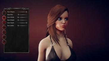Редактор персонажа в Beauty And Violence: Valkyries