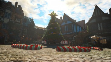 "Witcher 3 ""Новогодняя елка в Новиграде"""