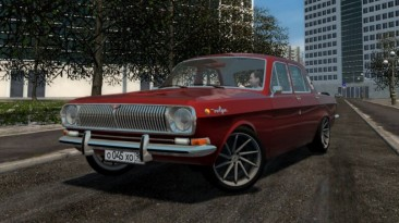 "City Car Driving ""ГАЗ-24 V8 3UZ-FE (v1.5.9 - 1.5.9.2)"""