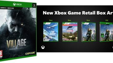 Microsoft меняет дизайн коробочных версий игр для Xbox Series X|S?