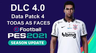"eFootball PES 2021 ""Официальный пакет данных DLC 4.0"""
