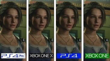 Сравнение графики ремейка Resident Evil 3 на консолях