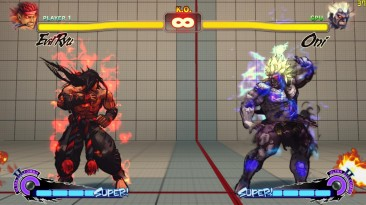 """Super Street Fighter 4 """"Evil Ryu from dlc4"""""""