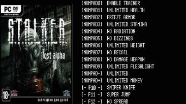 S.T.A.L.K.E.R. - Lost Alpha: Трейнер/Trainer (+14) [v.1.3.003] {LIRW / GHL} - Updated: 17.10.2016