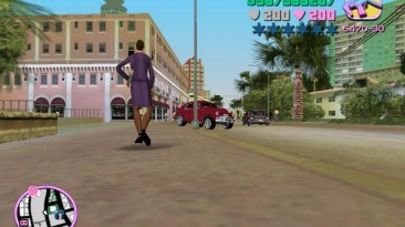 "Grand Theft Auto: Vice City ""Модификация ""Русский мод"""""