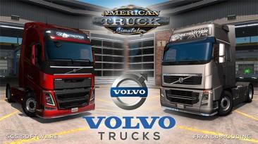 "American Truck Simulator ""VOLVO FH16 Trucks Mod v5.1 1.37.х"""