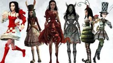 """Alice: Madness Returns """"Пак платьев для игры (без установки)."""""""
