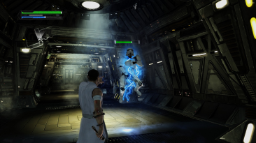 """Star Wars: The Force Unleashed """"Oбновленная графика"""""""