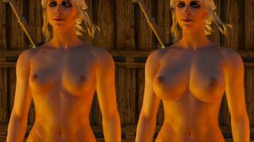 "Witcher 3: Wild Hunt ""Большие сиськи (Цири)"""