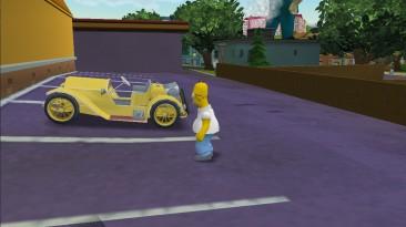 """The Simpsons Hit & Run """"Gold 1936 Stutz Bearcat"""""""