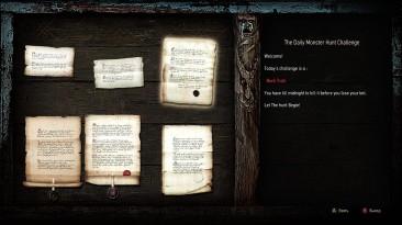 """Witcher 3: Wild Hunt """"The Daily Monster Hunt Challenge (объявление,""""охота на монстров"""") v1.30"""""""