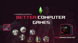 "The Sims 4 ""Игровой ПК с Cyberpunk 2077 и GTA 5"""