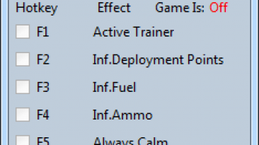 Wargame: Red Dragon: Трейнер/Trainer (+9) [16.08.23] {MrAntiFun}