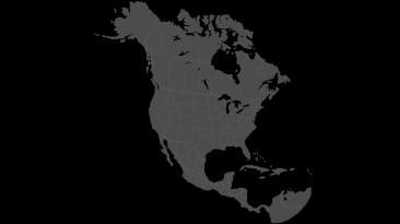 """American Truck Simulator """"Высококачественная карта-подложка для карт Северной Америки (1.40.x)"""""""