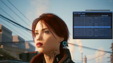 "Cyberpunk 2077 ""Улучшенный материал волос"""