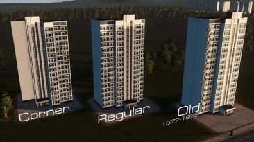"""Cities Skylines """"Панельные здания серии П-44"""""""