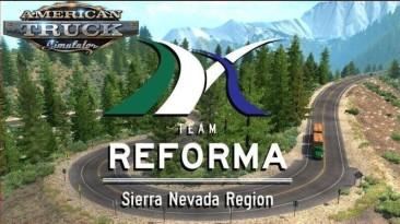 "American Truck Simulator ""Карта: Sierra Nevada v2.2.33 (1.40.x)"""