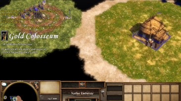"""Age Of Empires 3: The Asian Dynasties """"Карта - Gold 1.0 Colosseum"""""""