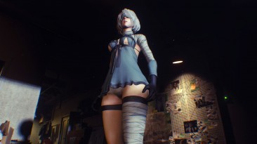 """Resident Evil 3 """"Yorha 2B Kaine Outfit"""""""