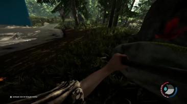 The Forest - Спуск в жуткую пещеру у места крушения самолета