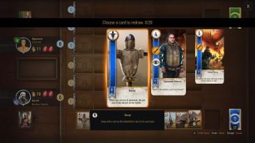 The Witcher 3: Wild Hunt / Ведьмак 3: Дикая Охота: Чит-Мод/Cheat-Mode (Смена карт в гвинт)