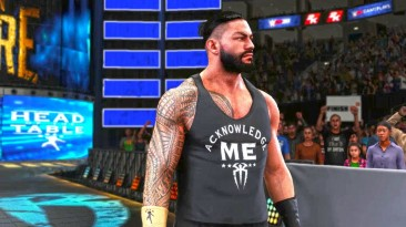 "WWE2K18 ""Мод ROMAN REIGNS SD 21 Updated Attire"""