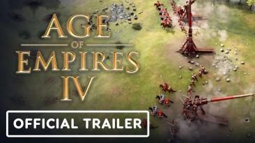 Age of Empires 4 - Официальный требушетный трейлер