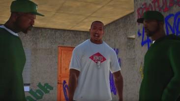 В GTA San Andreas улучшили графику