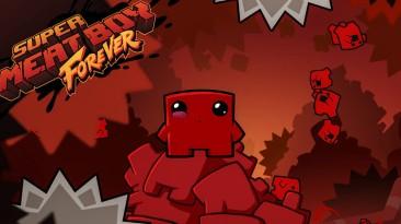 Игровой процесс Super Meat Boy Forever показали на PAX East