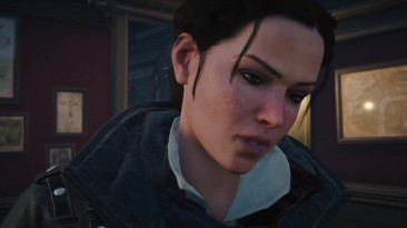 "Assassin's Creed: Syndicate ""Баг - Человек-невидимка сосется с Иви Фрай (Кат-Сцена)"""